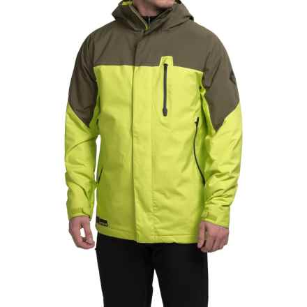 Burton Encore Snowboard Jacket - Waterproof, Insulated (For Men) in Venom/Keef Block - Closeouts