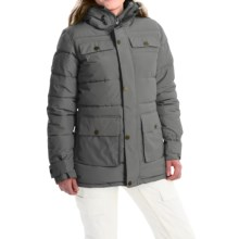 Burton Essex Puffy Snowboard Jacket - Waterproof, Insulated (For Women) in Faded - Closeouts