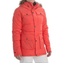 Burton Essex Puffy Snowboard Jacket - Waterproof, Insulated (For Women) in Tropic - Closeouts