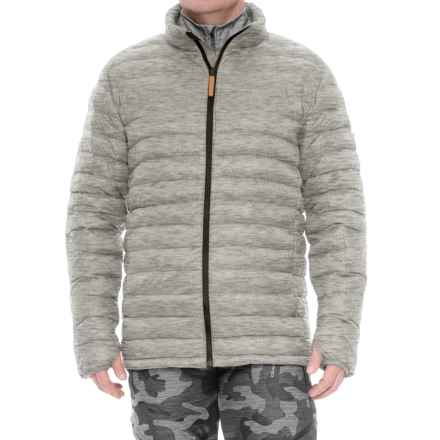 Burton Evergreen Down Insulator Jacket - 650 Fill Power (For Men) in Gray Heather - Closeouts