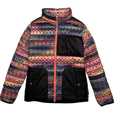 ef7dd7e20 Burton Evergreen Down Jacket - 650 Fill Power (For Girls) in Technicat Dream /