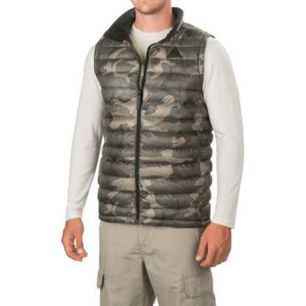 Burton Evergreen Vest - Insulated (For Men) in Bkamo - Closeouts