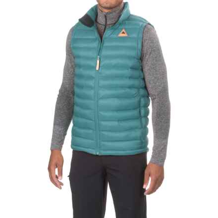 Burton Evergreen Vest - Insulated (For Men) in Larkspur - Closeouts