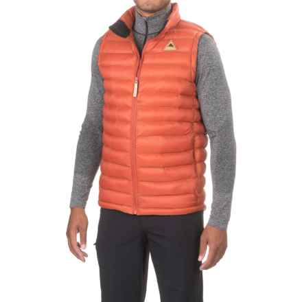 Burton Evergreen Vest - Insulated (For Men) in Picante - Closeouts