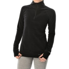 Burton Expedition Heavyweight Base Layer Top - Zip Neck, Long Sleeve (For Women) in True Black - Closeouts