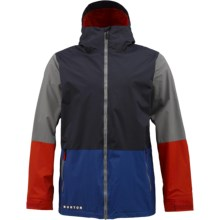 Burton Faction Jacket (For Men) in Ballpoint Colorblock - Closeouts
