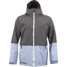 Burton Faction Jacket (For Men) in Jet Pack/Exeter - Closeouts