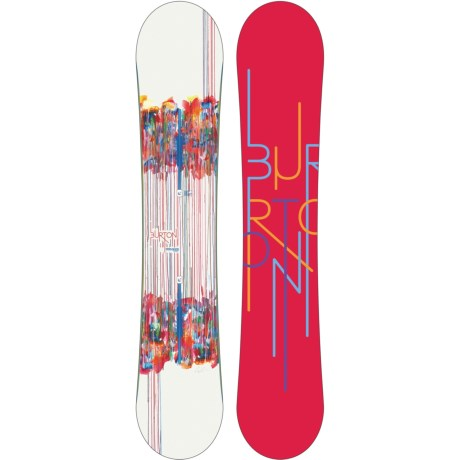 Burton Feelgood Flying V Snowboard (For Women) in Red W/Graphics