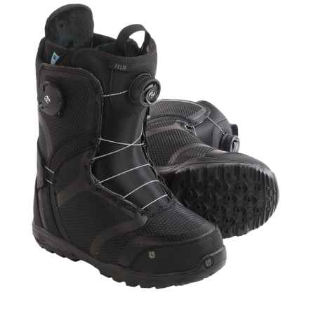 Burton Felix BOA® Snowboard Boots (For Women) in Black - Closeouts