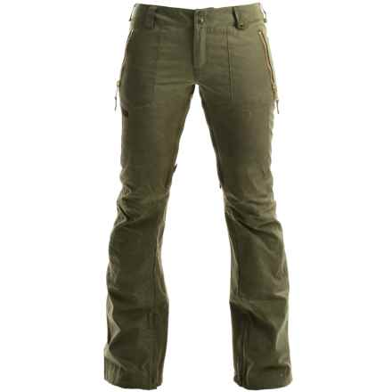 Burton Filson Snowboard Pants (For Women) in Olive - Closeouts