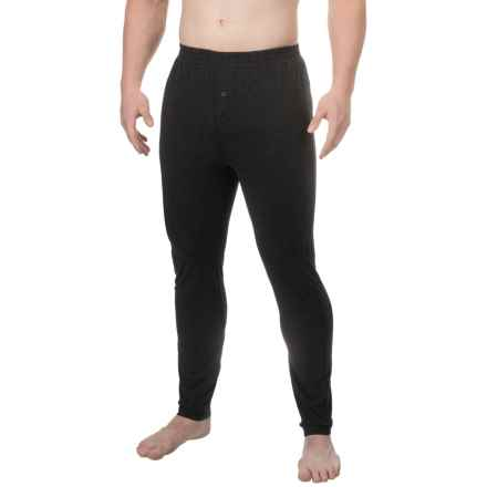 Burton First Layer Base Layer Wool Pants (For Men) in Black Heather - Closeouts