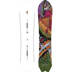 Burton Fish Snowboard - Swallowtail in 151 Graphic Black/Blue/Red