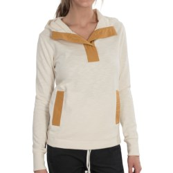 Burton Flicker Pullover Hoodie (For Women) in Vanilla Ice