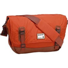 Burton Flint Messenger Bag in Red Clay - Closeouts