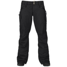 Burton Fly Snowboard Pants - Waterproof, Insulated (For Women) in True Black - Closeouts