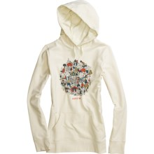 Burton Friends of the Forest Hoodie Sweatshirt (For Women) in Canvas - Closeouts