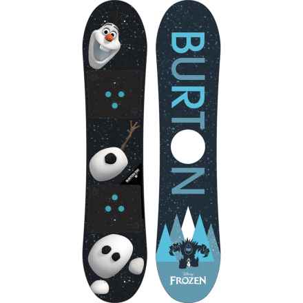Burton Frozen Olaf Snowboard (For Big Kids) in See Photo - Closeouts