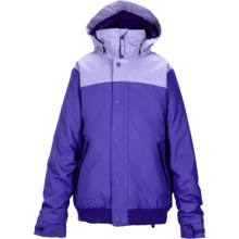 Burton Fusion Jacket - Insulated (For Girls) in Sorcerer - Closeouts