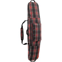 Burton Gig Snowboard Bag in Black Plaid - Closeouts