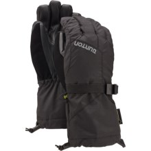 Burton Gore-Tex® Gloves - Waterproof, Insulated (For Little and Big Kids) in True Black - Closeouts