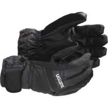 Burton Gore-Tex® Under Gloves - Waterproof, Insulated, 3-in-1 (For Men) in True Black/Ghost Plaid - Closeouts