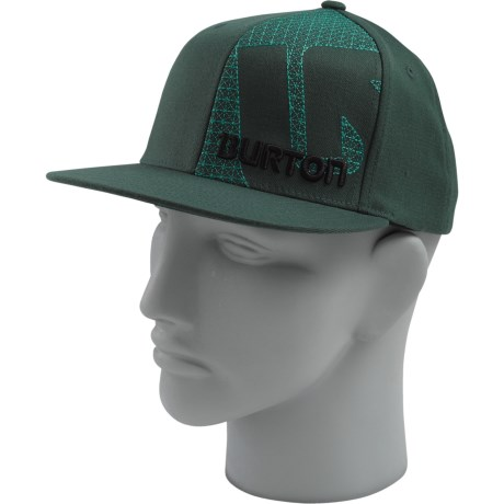 Burton Grid Line Hat - Flexfit® (For Men)