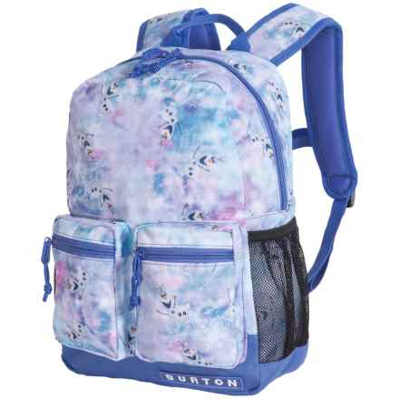 Burton Gromlet 15L Backpack (For Little and Big Kids) in Olaf Frozen Print - Closeouts