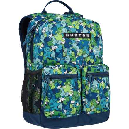 Burton Gromlet 15L Backpack (For Little and Big Kids) in Sasquatch Print - Closeouts