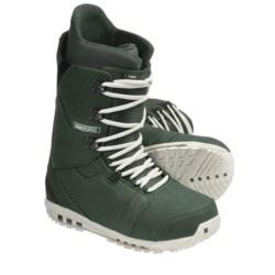 Burton Hail Snowboard Boots (For Men) in Forest Green/Bone