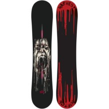 Burton Harvest Snowboard in 147 Graphic - Closeouts