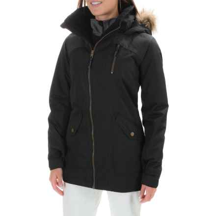 Burton Hazel 2L Jacket - Waterproof, Insulated (For Women) in True Black/True Black Denim - Closeouts