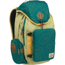 Burton HCSC Shred Scout Backpack in Topo Teal - Closeouts