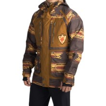 Burton Hellbrook Snowboard Jacket - Waterproof, Insulated (For Men) in Mocha Sierra/Beaver Tail - Closeouts