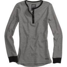 Burton Henley Shirt - Long Sleeve (For Women) in True Black - Closeouts
