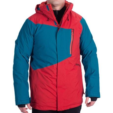 Burton Hostile Snowboard Jacket - Waterproof, Insulated (For Men) in Burner/Pipeline