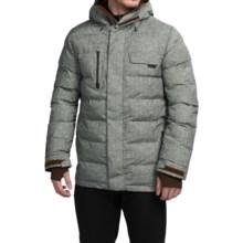 Burton Hostile Snowboard Jacket - Waterproof, Insulated (For Men) in Herringbone Print - Closeouts