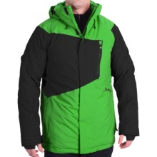 Burton Hostile Snowboard Jacket - Waterproof, Insulated (For Men) in Turf/True Black - Closeouts