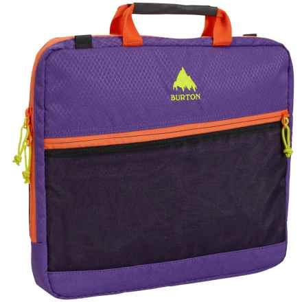 "Burton Hyperlink 13"" Laptop Case in Grape Crush Diamond Rip - Closeouts"