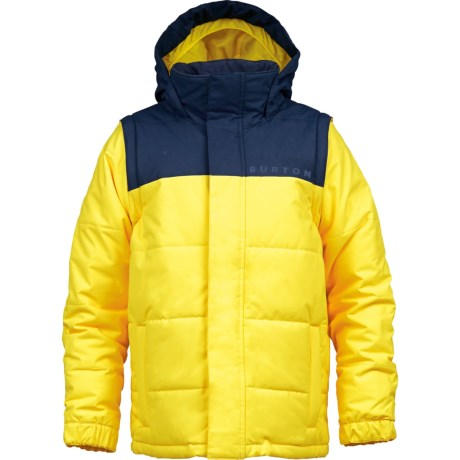 Burton Icon Puffy Snowboard Jacket - Insulated (For Boys) in Peeps
