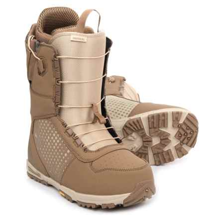 Burton Imperial AF Snowboard Boots - Asian Fit (For Men) in Desert - Closeouts