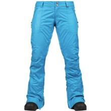 Burton Indulgence Snowboard Pants - Waterproof (For Women) in Blue Ray - Closeouts