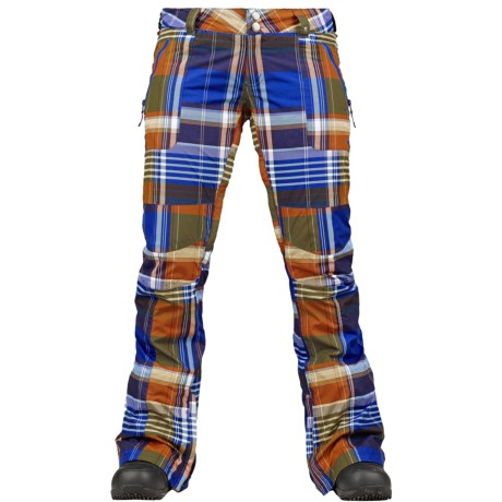 Burton Indulgence Snowboard Pants - Waterproof (For Women) in Blue Ray