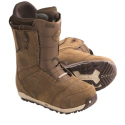 Burton Ion Leather Snowboard Boots (For Men) in Redwing