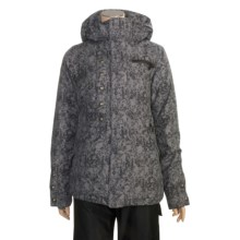Burton Ivy Jacket - Waterproof, Insulated (For Women) in Cruel Intentions Print - Closeouts