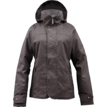 Burton Jet Set Jacket - Insulated (For Women) in Heathers - Closeouts