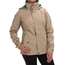 Burton Jet Set Snowboard Jacket - Waterproof, Insulated (For Women) in Sandstruck - Closeouts