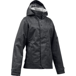 Burton Jet Set Snowboard Jacket - Waterproof, Insulated (For Women) in Canvas