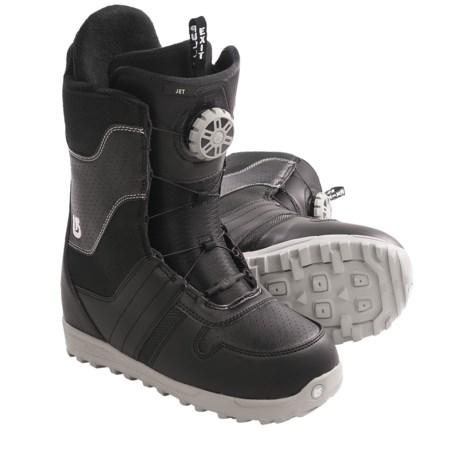Burton Jet Snowboard Boots (For Men) in Grey/Orange