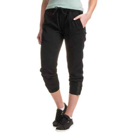 Burton Joy Pants - Cotton (For Women) in True Black - Closeouts