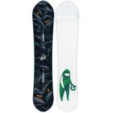Burton Juice Wagon Snowboard in 153 Black Multi/White Green Figure - 2nds